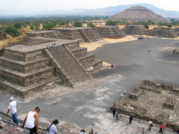 Photo of Mexico City Teotihuacan Pyramids and Shrine of Guadalupe Moon