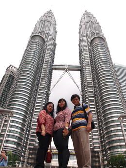 Photo of Kuala Lumpur Kuala Lumpur City  Highlights Morning Tour My family at Twin Tower Petronas
