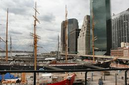 Photo of   Old  and  New at South Street Seaport