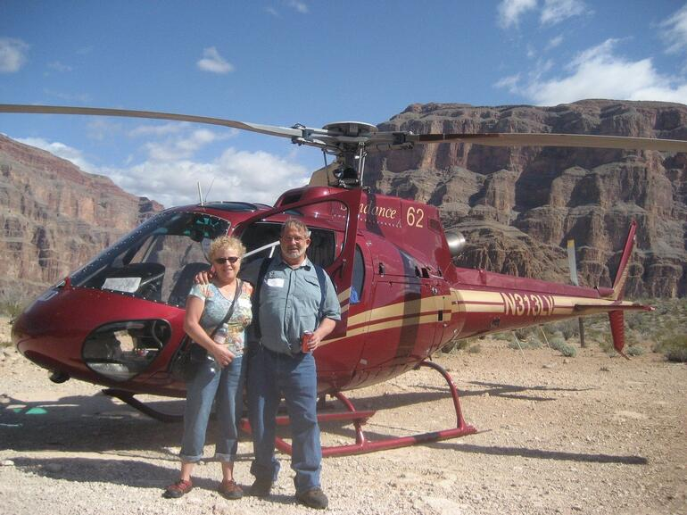 Our first Helicopter Trip - Las Vegas