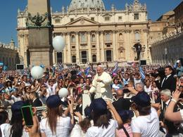 Photo of Rome Papal Audience Tickets and Presentation So close  to Pope Francis, it was awesome
