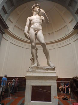 This is a true work of art. The Accademia and Uffizi Gallery are a must to see in Florence. , VICKIE Z - July 2014