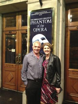 Photo of London Phantom of the Opera Theater Show Steve  and  Leanne