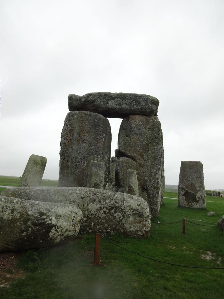 Stonehenge in the rain - London