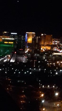 Photo of Las Vegas Las Vegas Strip Night Flight by Helicopter with Transport Taxiing