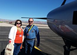 Photo of Las Vegas Grand Canyon West Rim Air and Ground Day Trip from Las Vegas with Optional Skywalk The airplane