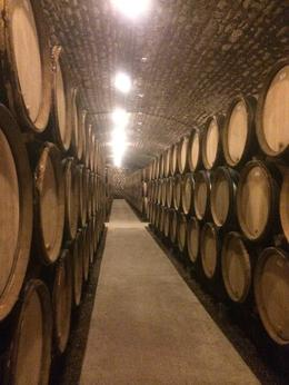 Photo of Burgundy & Dijon Wine Tasting - Cote de Nuits Region with Two Cellar Visits Wine Barrels in Wine Cellar