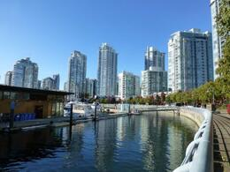 Boardwalk and Habour in Yaletown , Leigh - November 2013