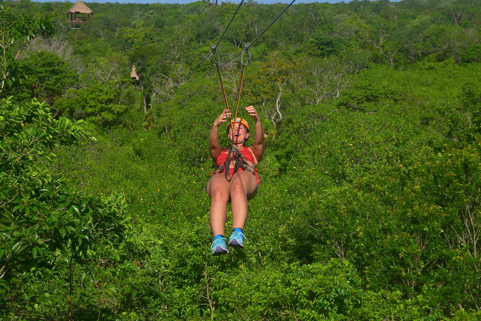 Cancun Cenote Tour: Snorkeling, Rappelling and Ziplining