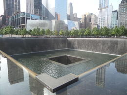 Photo of New York City 9/11 Memorial and Ground Zero Walking Tour with Optional 9/11 Museum Upgrade 9/11 Memorial