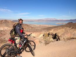 Photo of Las Vegas Hoover Dam Mountain Bike Tour Along the trail...