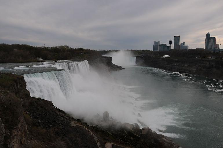 American and Canadian Falls - New York City