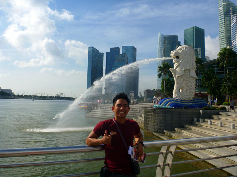 At Merlion - Singapore
