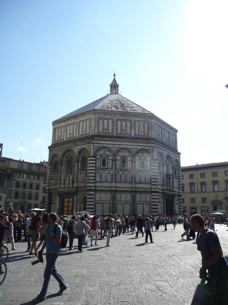 Baptistry of St. John in Piazza del Duomo - Florence