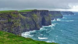 Taking in the gorgeous view at the Cliffs of Moher. , Ryan L - May 2014