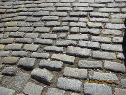 picture of real life cobblestone street. as back in the days , Levada C - October 2014