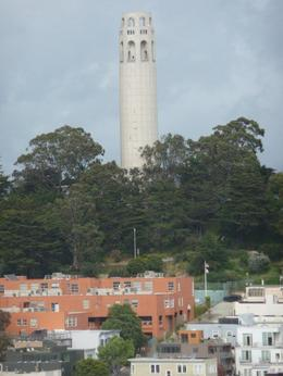 Photo of San Francisco Walking Tour of Fisherman's Wharf and North Beach with Cable Car Ride and optional Alcatraz Ticket Coit Tower