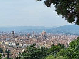 This was taken from Piazza Michaelangelo. Gorgeous views, and some fun vendors there, too. We went back the next day and bought a purse! , Tanya G - June 2015