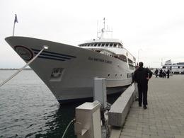 Cruise boat in Lake Ontario , kris - April 2013