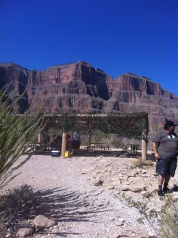 Photo of Las Vegas Grand Canyon All American Helicopter Tour Lunch at the Canyon