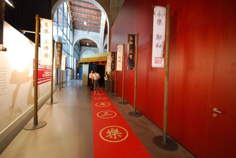 Museu Maritim Exhibition Section - Barcelona