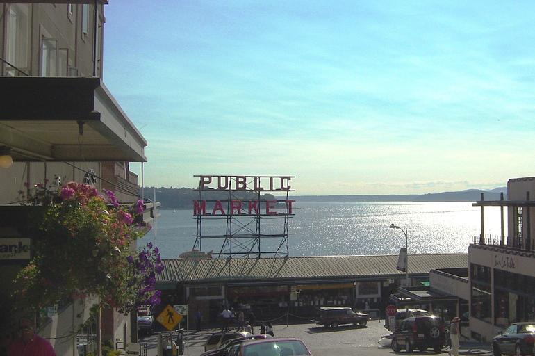 Public Market Sign - Seattle