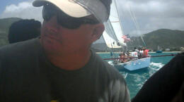 Photo of St Maarten St. Maarten 12 Metre Challenge See the Stars & Stripes closing in