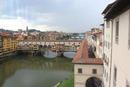Photo of Florence Florence Super Saver: Best of Florence Walking Tour, Accademia Gallery, Uffizi Gallery and Florence Duomo View from 2nd floor window in Uffizi Gallery