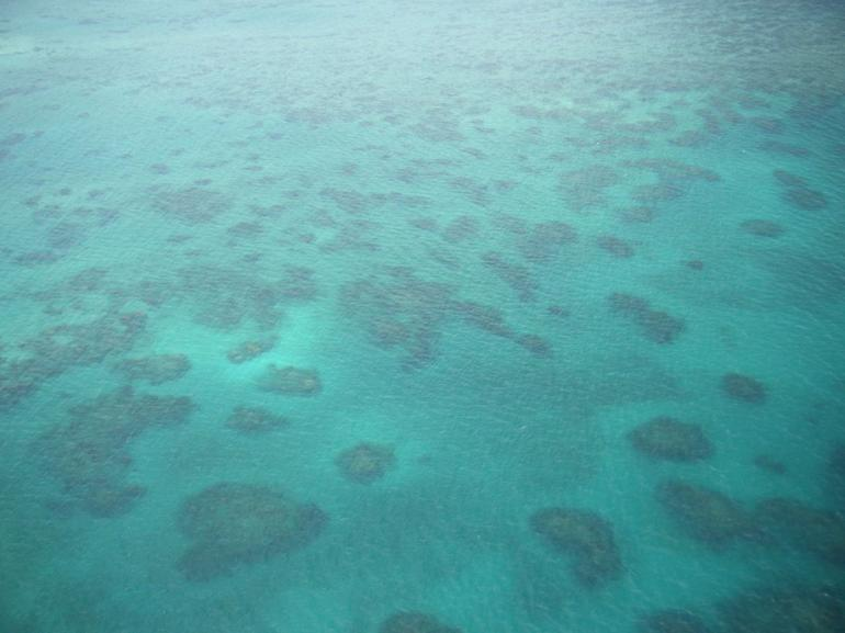View from the helicopter - Cairns & the Tropical North