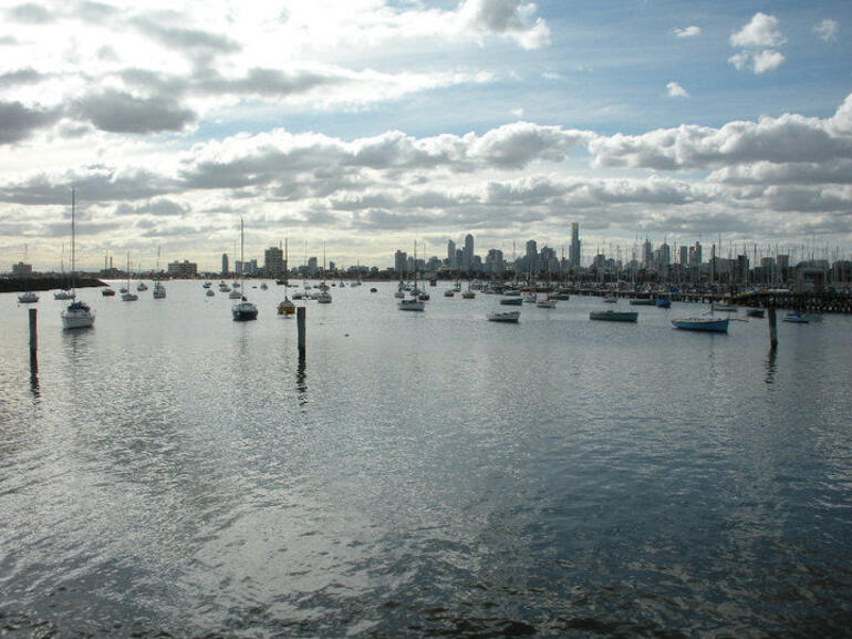 View of Melbourne from St. Kilda - Melbourne