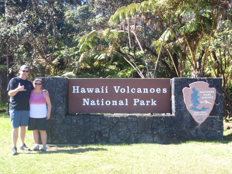 Volcalno National Park - Big Island of Hawaii