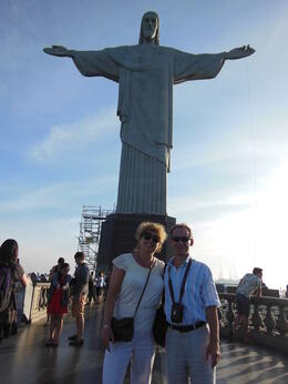 Photo of Rio de Janeiro Corcovado Mountain and Christ Redeemer Statue Half-Day Tour We and Jesus