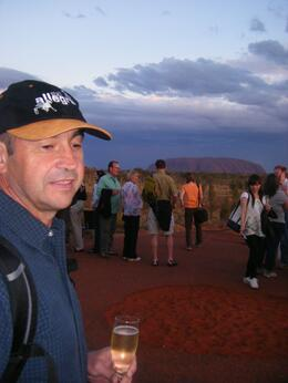 Photo of Ayers Rock Sounds of Silence Restaurant Wine and canapes