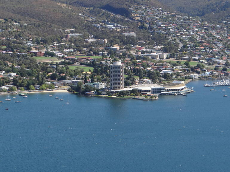 Wrest Point Casino and Sandy Bay - Hobart