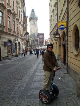 Wanted to share the long narrow streets of Prague and some of the architecture of it. , Dubi - April 2013