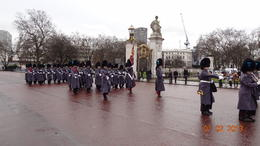 Changing of the Guard at Buckingham Palace , Tamer M - February 2013