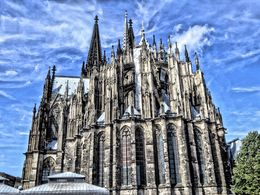 This photograph was taken at the rear of Cologne's cathedral. , David Lally - September 2015