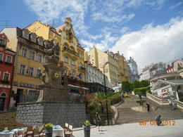 Karlovy Vary, beautiful city! , Claudia B - June 2012