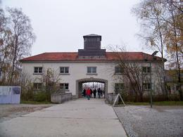 Prisoners saw this when they arrived at Dachau, Juanita E - November 2009