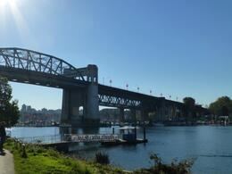 Ferry dock to Granville Island , Leigh - November 2013