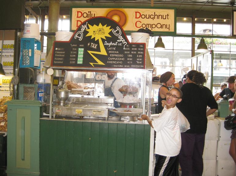 Get your fresh donuts here - Seattle