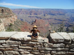 Smokey at the South Rim, Cowboysrock - June 2011