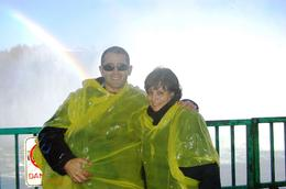 This pic was taken under the Canadian Falls., Carlos A - November 2008
