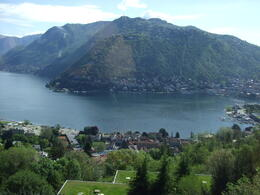 Lake Como (taken from a bus) , Tsutomu U - June 2013