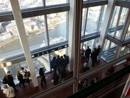 Photo of London The Shard London: The View from The Shard Le HMS Belfast