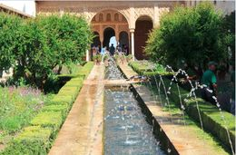 One of the cooler places in the Generalife / La Alhambra site. , David H - June 2016