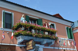 Photo of Venice Murano, Burano and Torcello Half-Day Sightseeing Tour Restaurant Galuppi with figurines