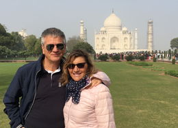 Roberto and Antonella at one of the seven wonders.Unforgettable. , Roberto P - January 2016