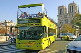 The bus and Notre Dame - January 2010