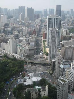 Picture from Tokyo Tower., Jennifer M - August 2008
